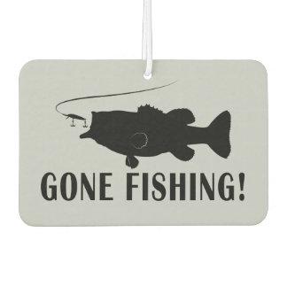 Gone Fishing with Largemouth Bass Car Air Freshener