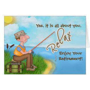 retirement card template