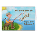Gone Fishing - with Verse - Retirement Cards
