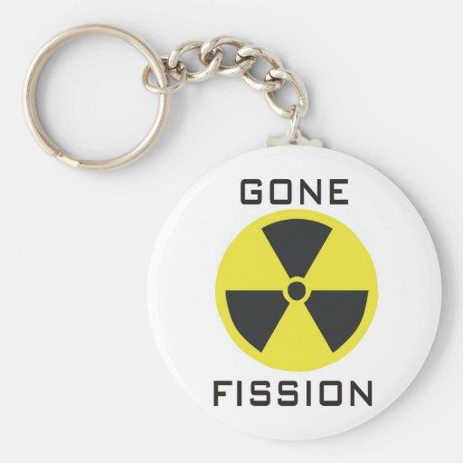Gone Fission Basic Round Button Keychain