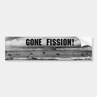 Gone Fission! Bumper Stickers