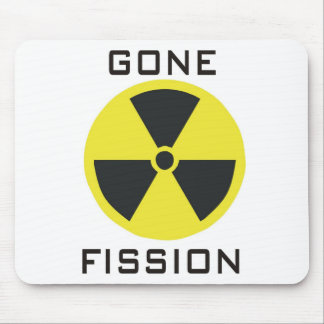 Gone Fission Mouse Pad