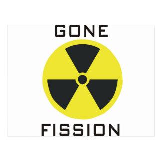 Gone Fission Postcard
