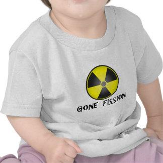 Gone Fission Radiation Symbol Tshirts