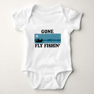 Gone Fly Fishin' Baby Bodysuit