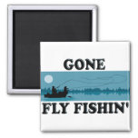 Gone Fly Fishin' Magnets