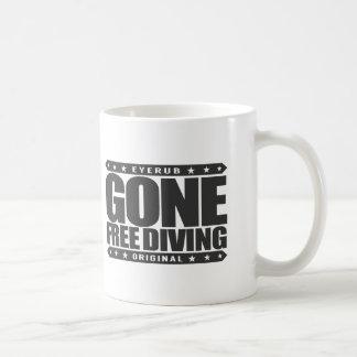 GONE FREE DIVING - Skilled Freediver & Spearfisher Coffee Mug