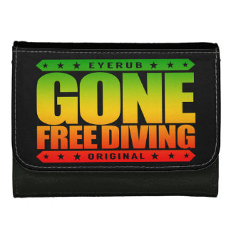 GONE FREE DIVING - Skilled Freediver & Spearfisher Wallet For Women