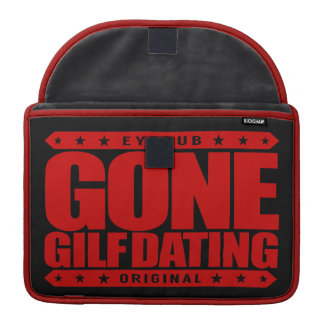GONE GILF DATING - Grandmother I'd Love to Friend Sleeve For MacBook Pro