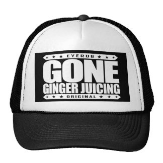 GONE GINGER JUICING - I Love Cleansing Juice Detox Trucker Hat