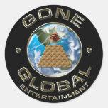 Gone Global Sticker