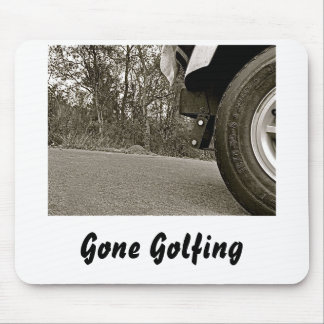 Gone Golfing Mouse Pad