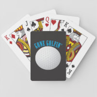 Gone Golfing Playing Cards