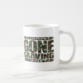 GONE GRAVING - Love Searching Out Cemetery Graves Coffee Mug