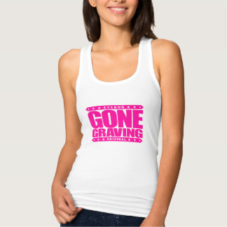 GONE GRAVING - Love Searching Out Cemetery Graves Tank Top