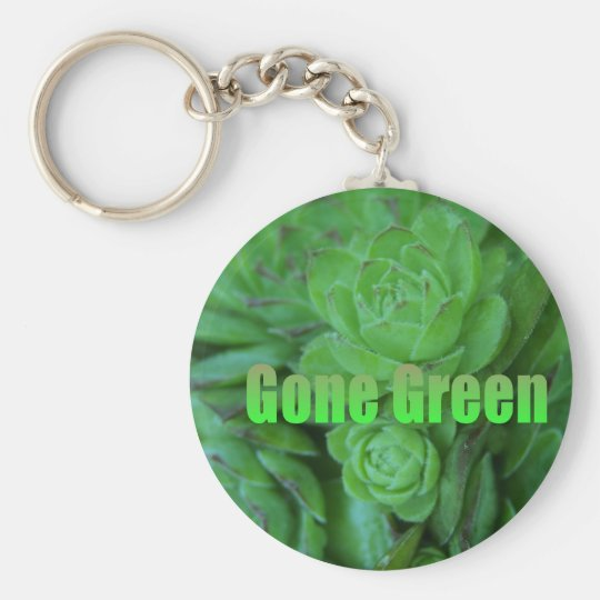 Gone Green 1 Keychain