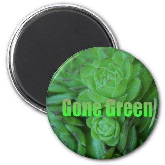 Gone Green 1 Magnets