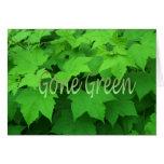 Gone Green 2 Card