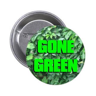 Gone Green 2 Inch Round Button