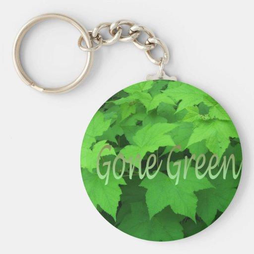 Gone Green 2 Key Chains