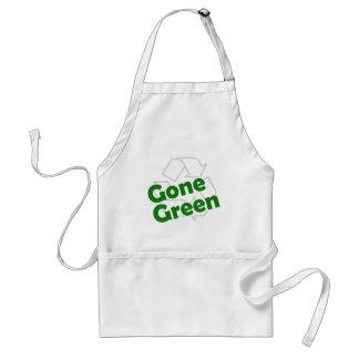 gone green adult apron