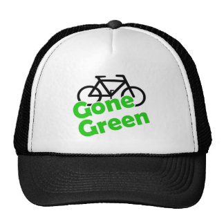 gone green bicycle mesh hat