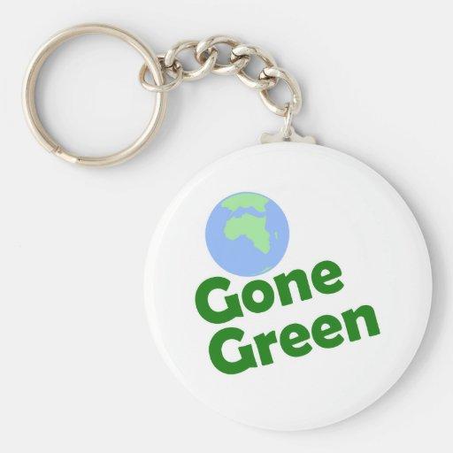 gone green key chain