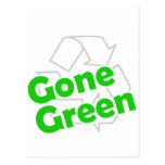 gone green post card