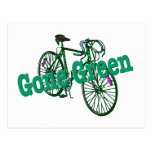 Gone Green Post Cards