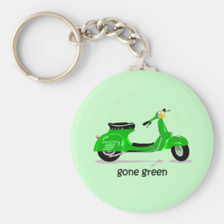 gone green scooter keychain