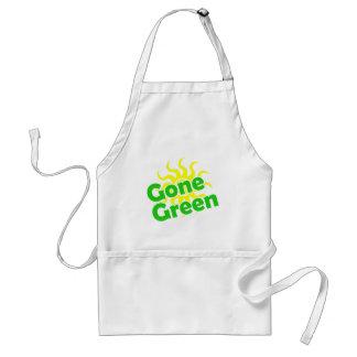 gone green solar adult apron