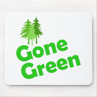 gone green trees mouse pad