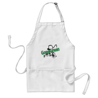Gone Green (Tricycle) Adult Apron