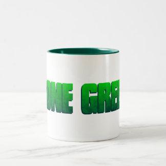 Gone Green Two-Tone Coffee Mug