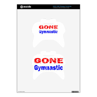 Gone Gymnastics. Xbox 360 Controller Decal