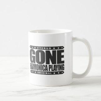 GONE HARMONICA PLAYING - I Love Wind Instruments Coffee Mug