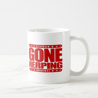 GONE HERPING - I Search for Amphibians & Reptiles Classic White Coffee Mug