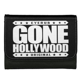GONE HOLLYWOOD - Millionaire Movie Star aka Waiter Leather Wallet For Women