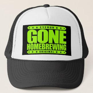 GONE HOMEBREWING - Home Beer Brewing & Wine Making Trucker Hat