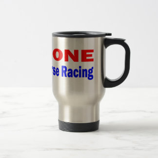 Gone Horse Racing. Coffee Mugs