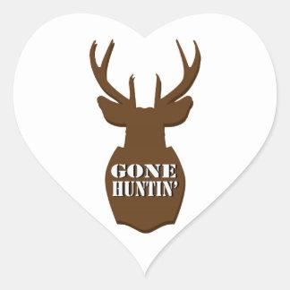 Gone Huntin' Sticker