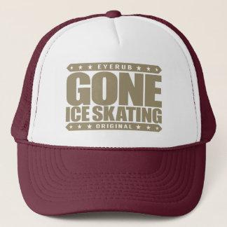 GONE ICE SKATING - A World Champion Figure Skater Trucker Hat