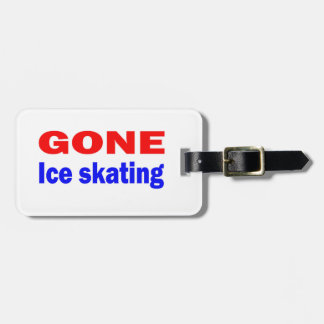 Gone Ice skating. Tags For Bags