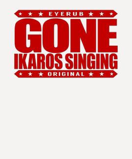 GONE IKAROS SINGING -  Ayahuasca Ceremony Shaman Shirt