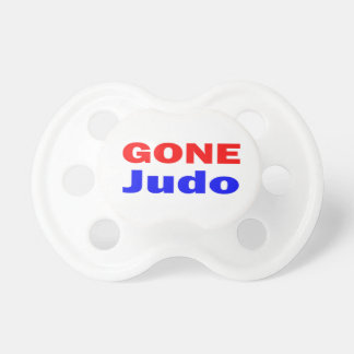 Gone Judo. Baby Pacifiers