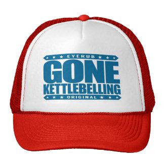 GONE KETTLEBELLING - I Love Core Strength Training Trucker Hat