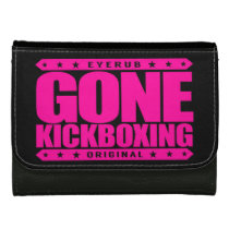 GONE KICKBOXING - Sparring Will Cause Brain Damage Leather Wallet For Women