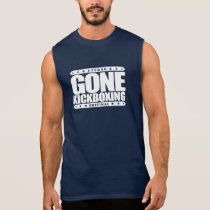GONE KICKBOXING - Sparring Will Cause Brain Damage Sleeveless Shirt