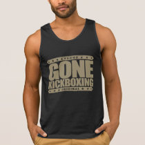 GONE KICKBOXING - Sparring Will Cause Brain Damage Tank Top