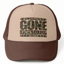 GONE KICKBOXING - Sparring Will Cause Brain Damage Trucker Hat